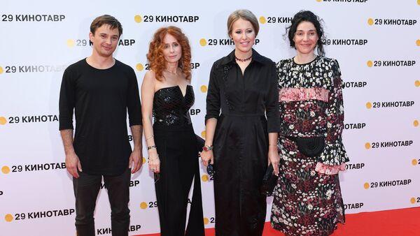 Ksenia Sobczak na ceremonii zamknięcia 29. festiwalu Kinotaur, Soczi - Sputnik Polska