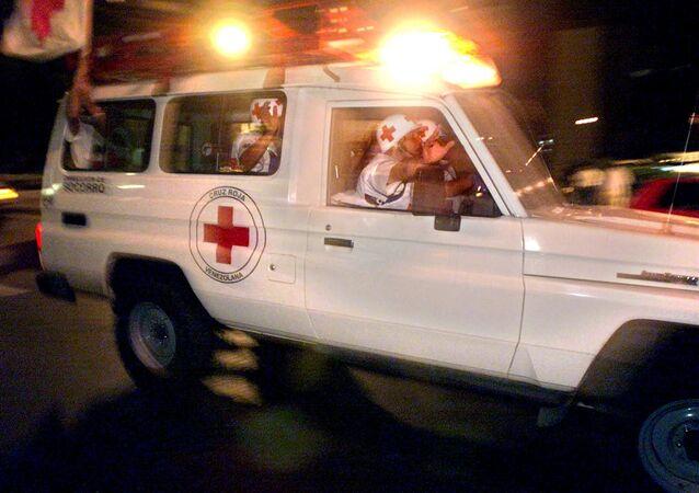 Karetka pogotowia w Wenezueli