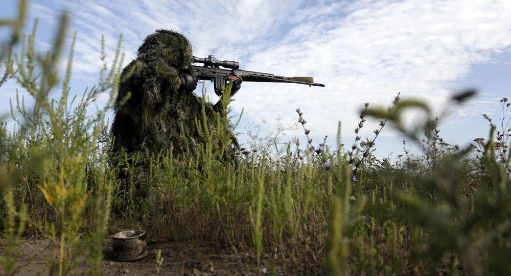 W Donbasie pojawił się oddział ukraińskich snajperówr