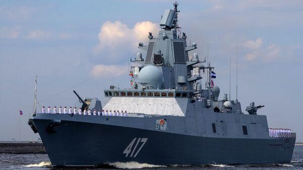 """Fregata """"Admirał Gorszkow"""" w Kronsztadzie - Sputnik Polska"""