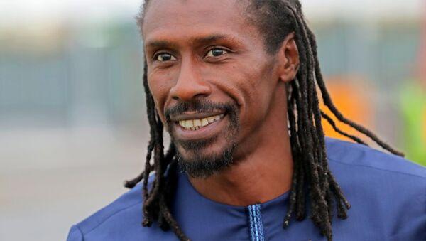 Główny trener reprezentacji Senegalu Aliou Cissé - Sputnik Polska