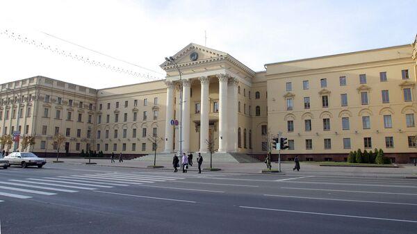 Budynek KGB na Białorusi w Mińsku - Sputnik Polska