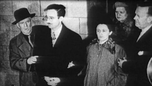 Małżonkowie Julius i Ethel Rosenbergowie zostali straceni w USA 65 lat temu - Sputnik Polska