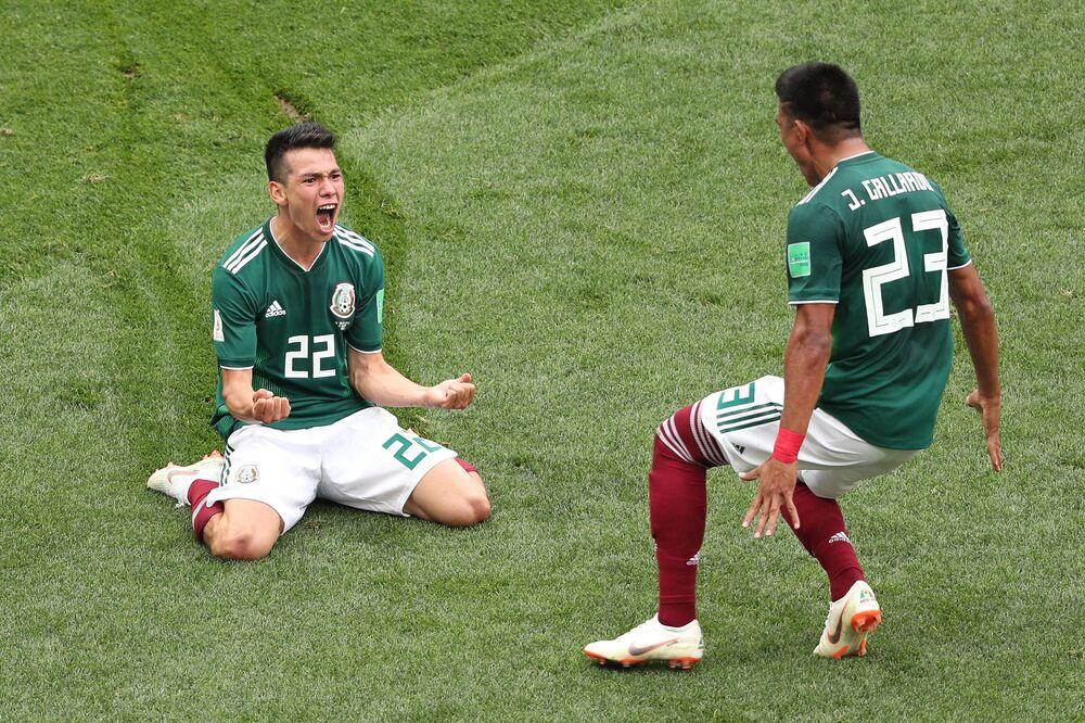 Mecz fazy grupowej Mistrzostw Świata w Piłce Nożnej między reprezentacjami Niemiec i Meksyku