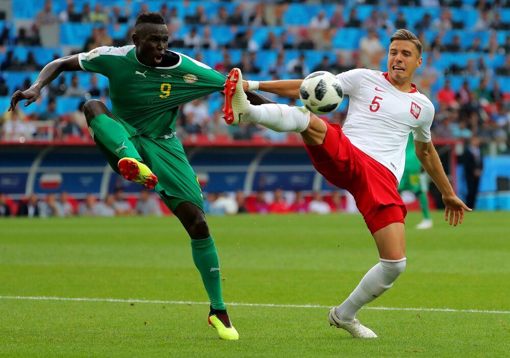 Mecz fazy grupowej Mistrzostw Świata w Piłce Nożnej między reprezentacjami Polski i Senegala