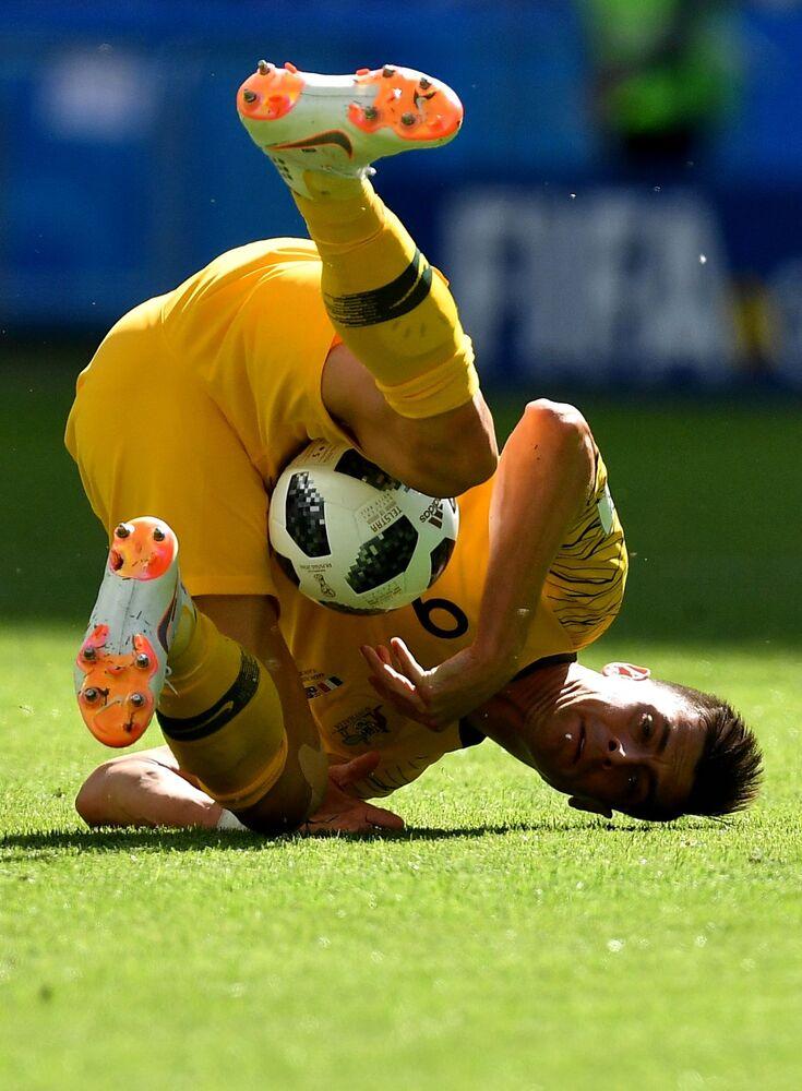 Mecz fazy grupowej Mistrzostw Świata w Piłce Nożnej między reprezentacjami Francji i Austrii