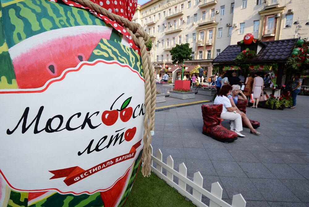 Festiwal konfitury w Moskwie