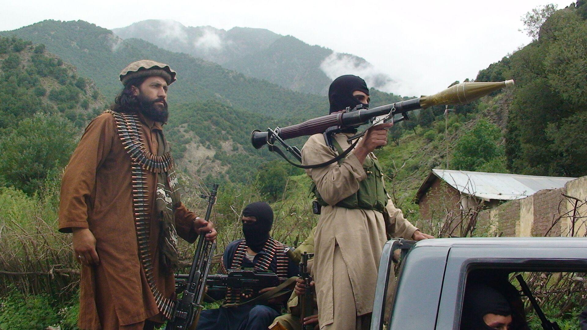 Członkowie ruchu Taliban w Południowym Waziristanie - Sputnik Polska, 1920, 17.07.2021