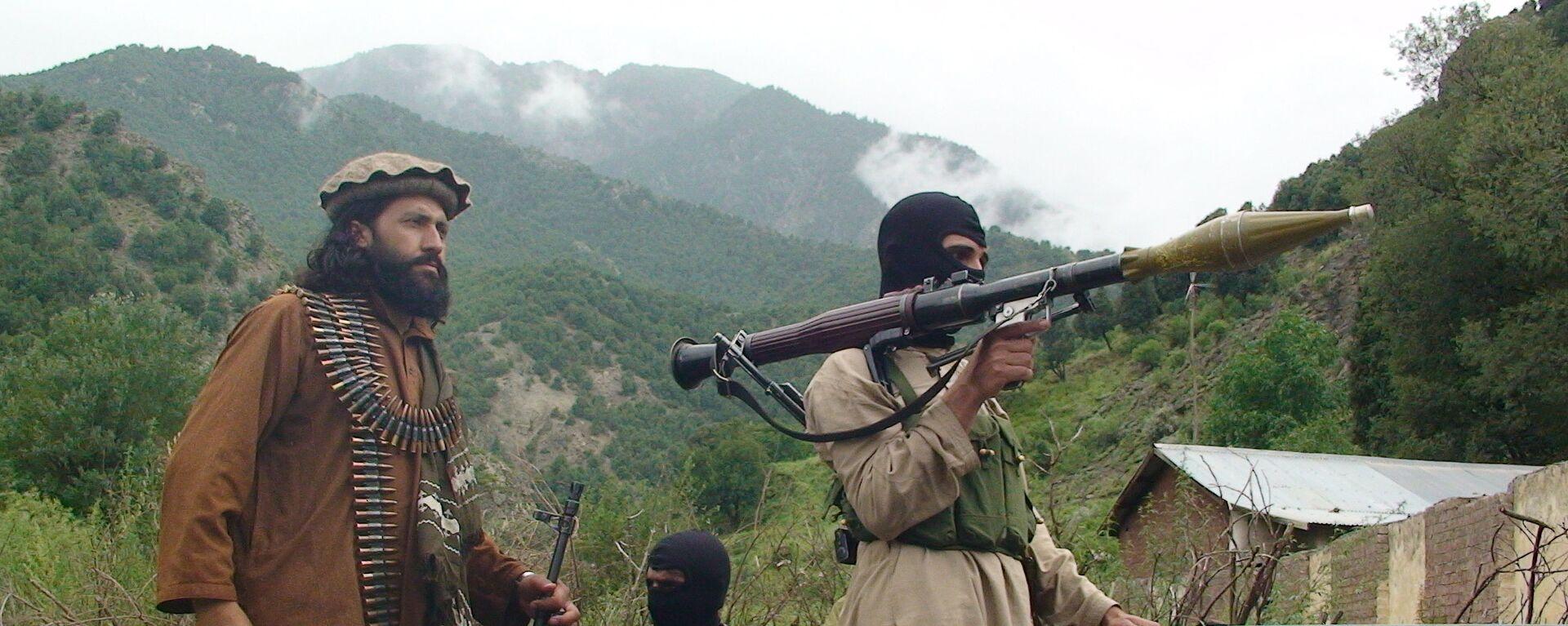 Członkowie ruchu Taliban w Południowym Waziristanie - Sputnik Polska, 1920, 10.07.2021