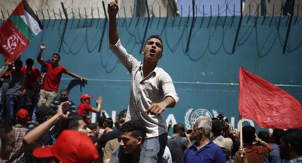 Akcja protestacyjna Ludowego Frontu Wyzwolenia Palestyny