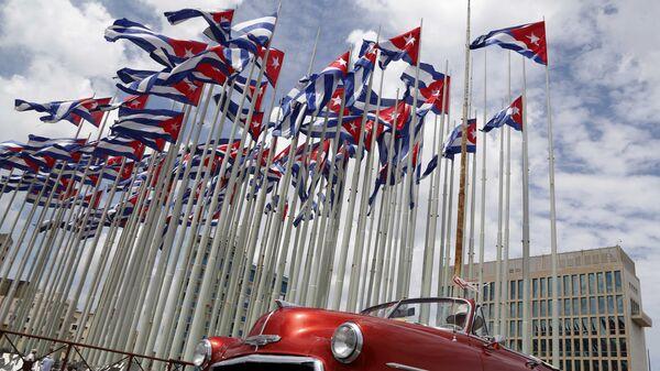 Ambasada USA w Hawanie - Sputnik Polska