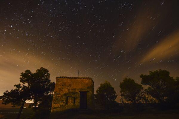 Gwieździste niebo. Północna Hiszpania - Sputnik Polska