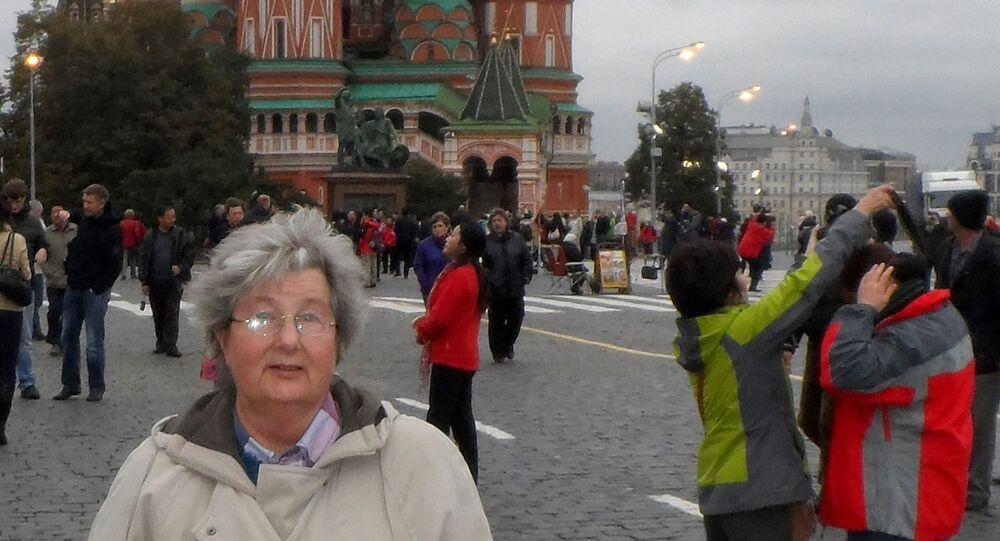 Zofia Bąbczyńska-Jelonek w Moskwie