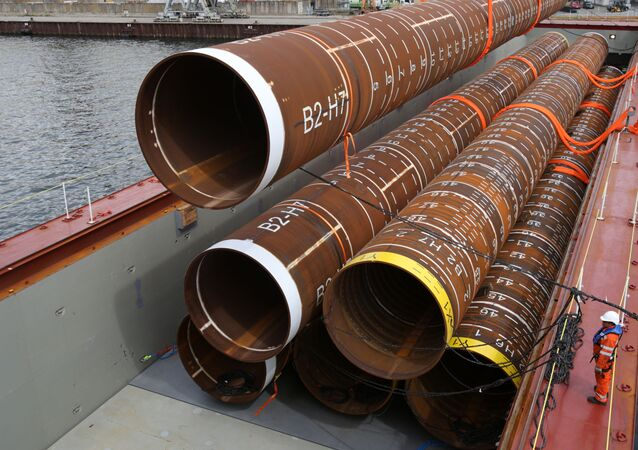 Rury do budowy gazociągu Baltic Pipe 2