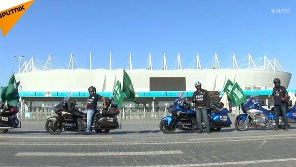 Motocykliści z Arabii Saudyjskiej - Sputnik Polska