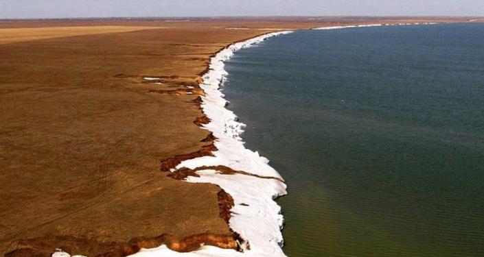 Jezioro Jarowoje w Kraju Ałtajskim