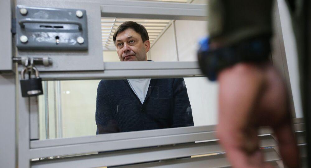 Kierownik portalu Ria Novosti Ukraina Kirił Wyszynski