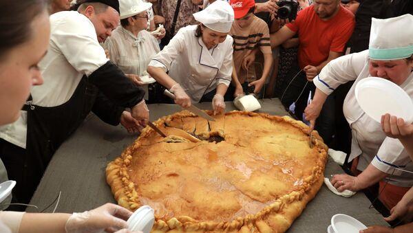 Kuchnia tatarska w Kazaniu - Sputnik Polska
