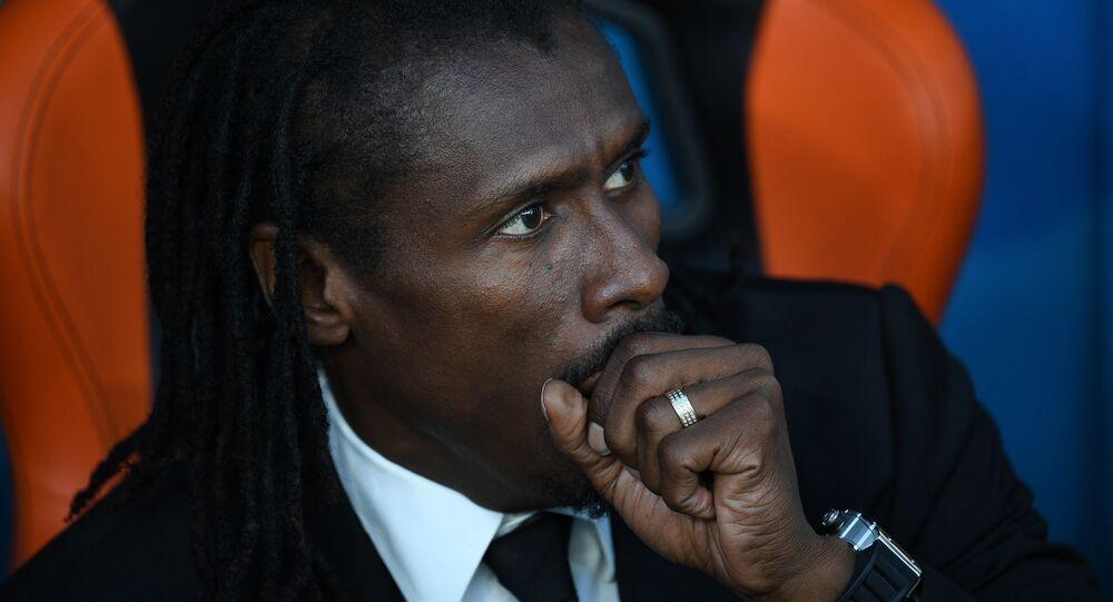 Aliou Cissé, terner reprezentacji Senegalu