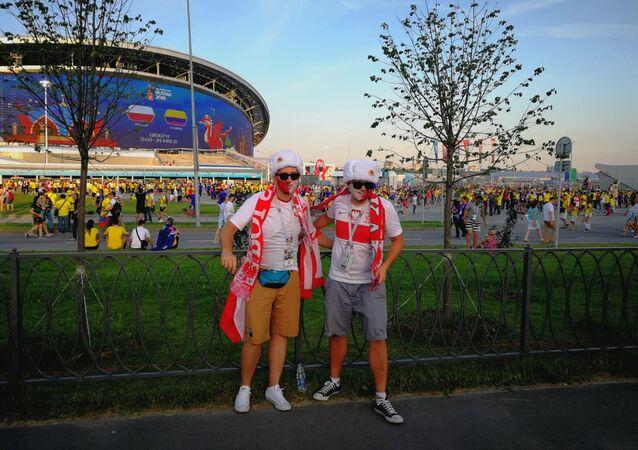 Pod stadionem Kazań Arena