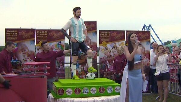 Messi z czekolady - Sputnik Polska
