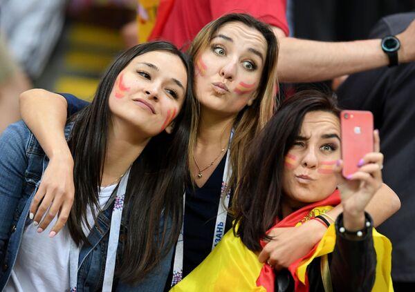 Kibicki reprezentacji Hiszpanii na meczu Hiszpania - Iran - Sputnik Polska