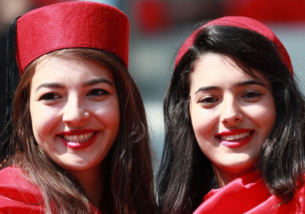 Dziewczyny z Tunezji w Moskwie