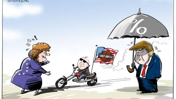 Biegnij, Harley, biegnij! - Sputnik Polska