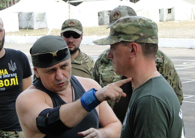 Doradca kierownika Departamentu Kontrwywiadu SBU generała Aleksieja Pietrowa - Andriej Lisogor