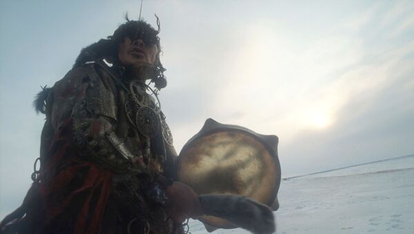 Jeden z ostatnich nganasańskich szamanów Delsjumiak Demnimieewicz Kosterkin - Sputnik Polska