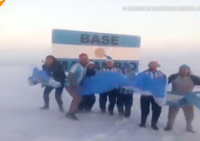 Argentyńczycy świętowali awans reprezentacji