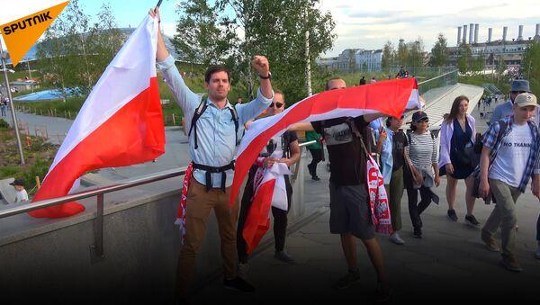 Kibice o pobycie w Moskwie - Sputnik Polska