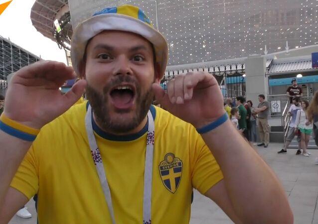 Kibiców Meksyku i Szwecji połączyło... odpadnięcie niemieckiej reprezentacji z Pucharu Świata!