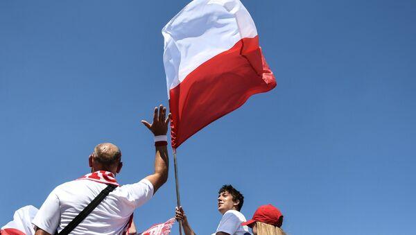 Kibice MŚ 2018 przed meczem Polska - Japonia w Wołgogradzie - Sputnik Polska