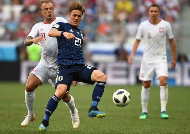 Kamil Grosicki. Polska - Japonia MŚ 2018