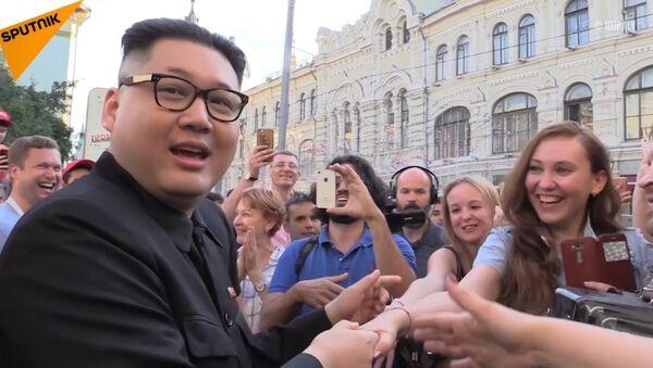 Kim Dzong Un w Moskwie - Sputnik Polska