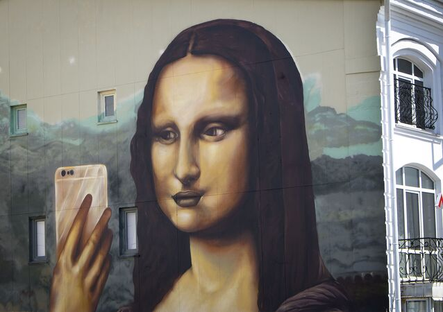 Graffiti w centrum Kazania