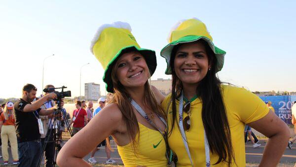 Úrsula i Paola z Brazylii - Sputnik Polska