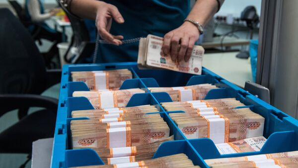 Rosyjskie ruble - Sputnik Polska