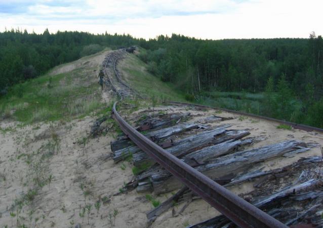 Stalinowskie koleje na Syberii