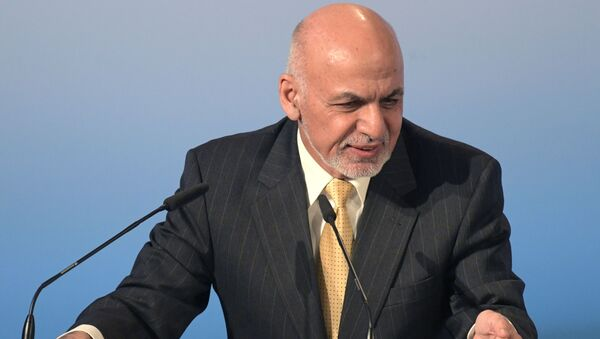 Prezydent Afganistanu Aszraf Ghani - Sputnik Polska