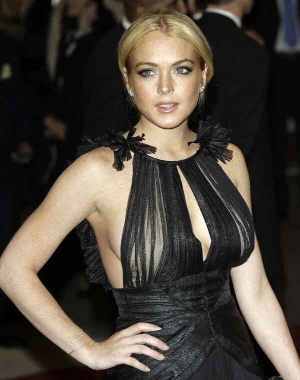 Amerykańska aktorka Lindsay Lohan - Sputnik Polska