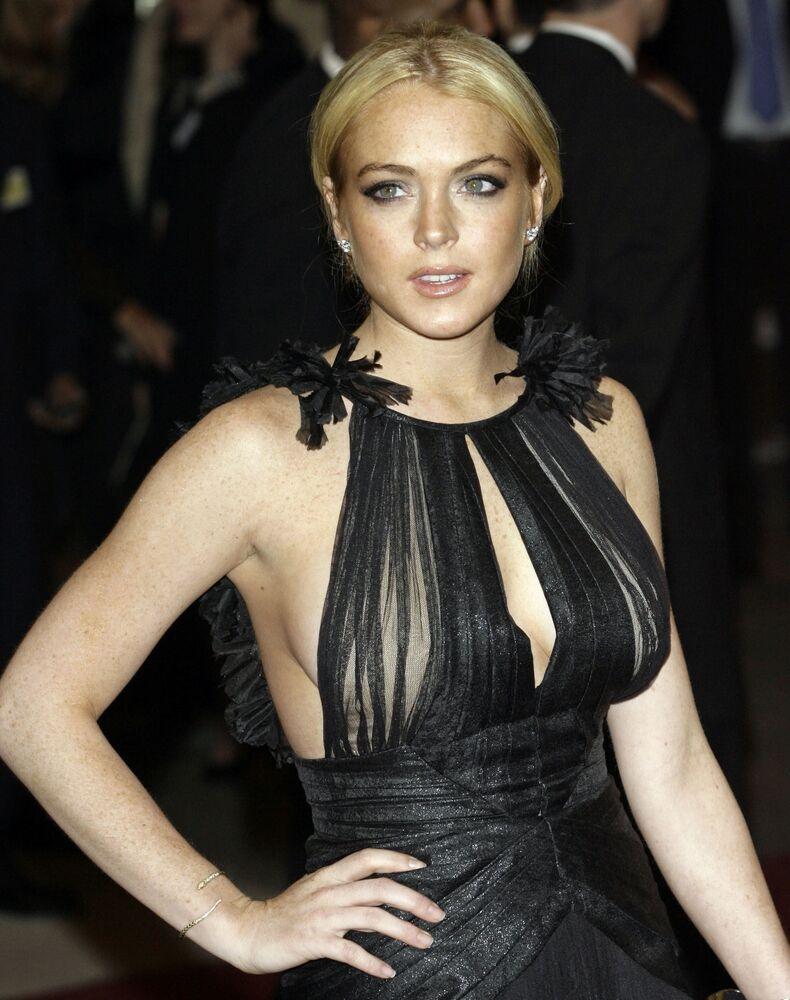 Amerykańska aktorka Lindsay Lohan