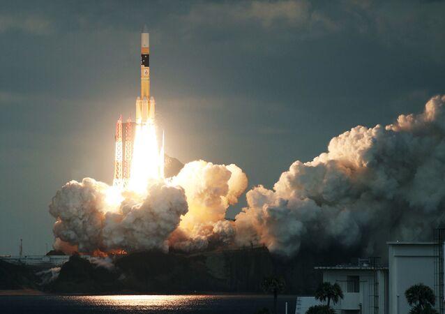 Japońska rakieta H-IIA z satelitą Kirameki-2