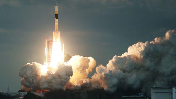 Japońska rakieta H-IIA z satelitą Kirameki-2 - Sputnik Polska