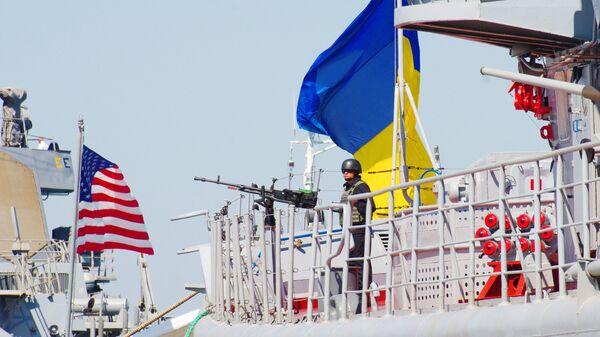 "Amerykańsko-ukraińskie manewry morskie ""Sea Breeze - 2015"" - Sputnik Polska"