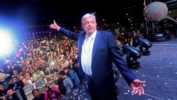 Andrés Manuel López Obrador - Sputnik Polska