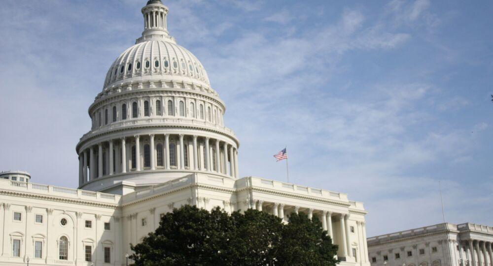 Budynek Kapitolu USA w Waszyngtonie