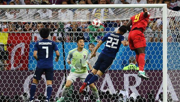 Mecz 1/8 finału MŚ 2018 Belgia - Japonia - Sputnik Polska