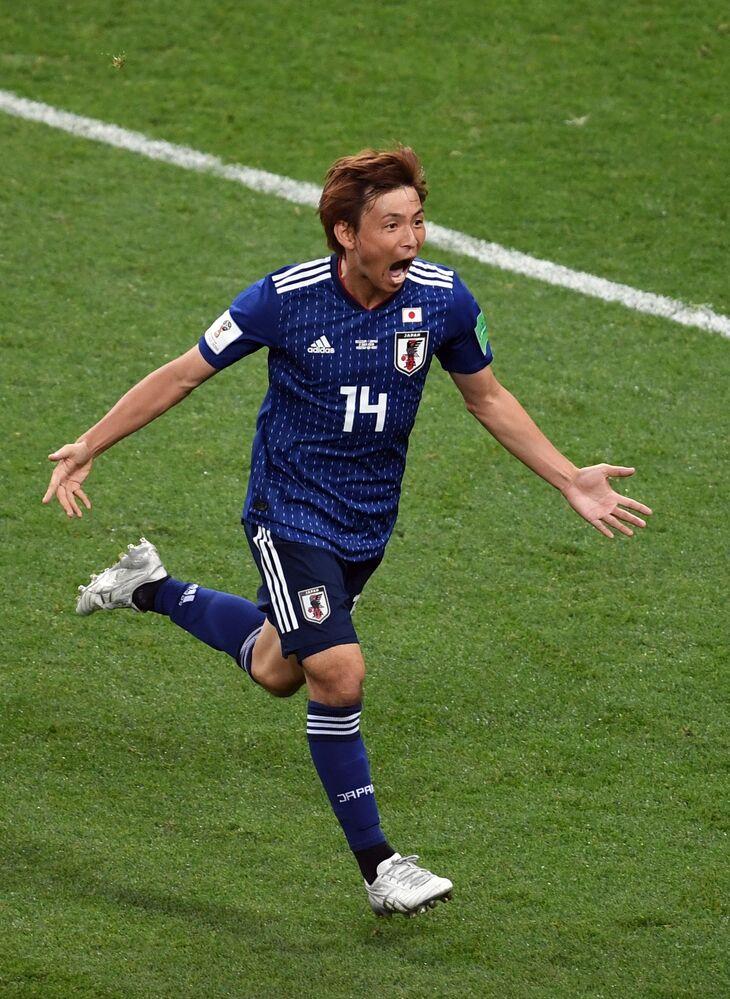 Japoński piłkarz Takashi Inui